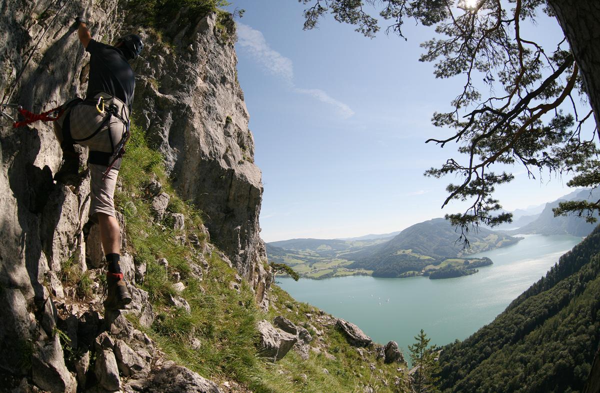 Klettersteig Mondsee : Drachenwand klettersteig mondsee forum gipfeltreffen