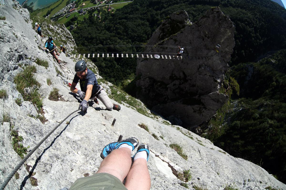 Klettersteig Oberösterreich : Drachenwand klettersteig mondsee forum gipfeltreffen